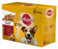 Pedigree kapsa adult v želé 12x100 g
