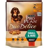 Pro Plan Dog Adult Small & Mini Duo Délice Beef 700 g +700 g ZDARMA